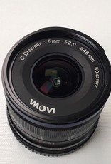 Laowa C-Dreamer 7.5mm f2 Lens for Micro Four Thirds Used EX+
