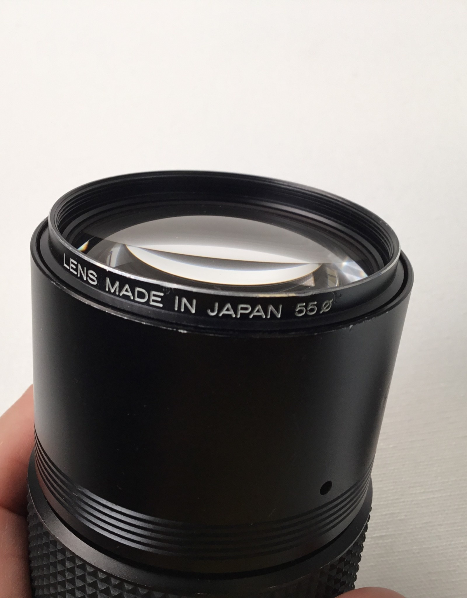 Konica Hexanon AR 200mm f4 Lens Used EX
