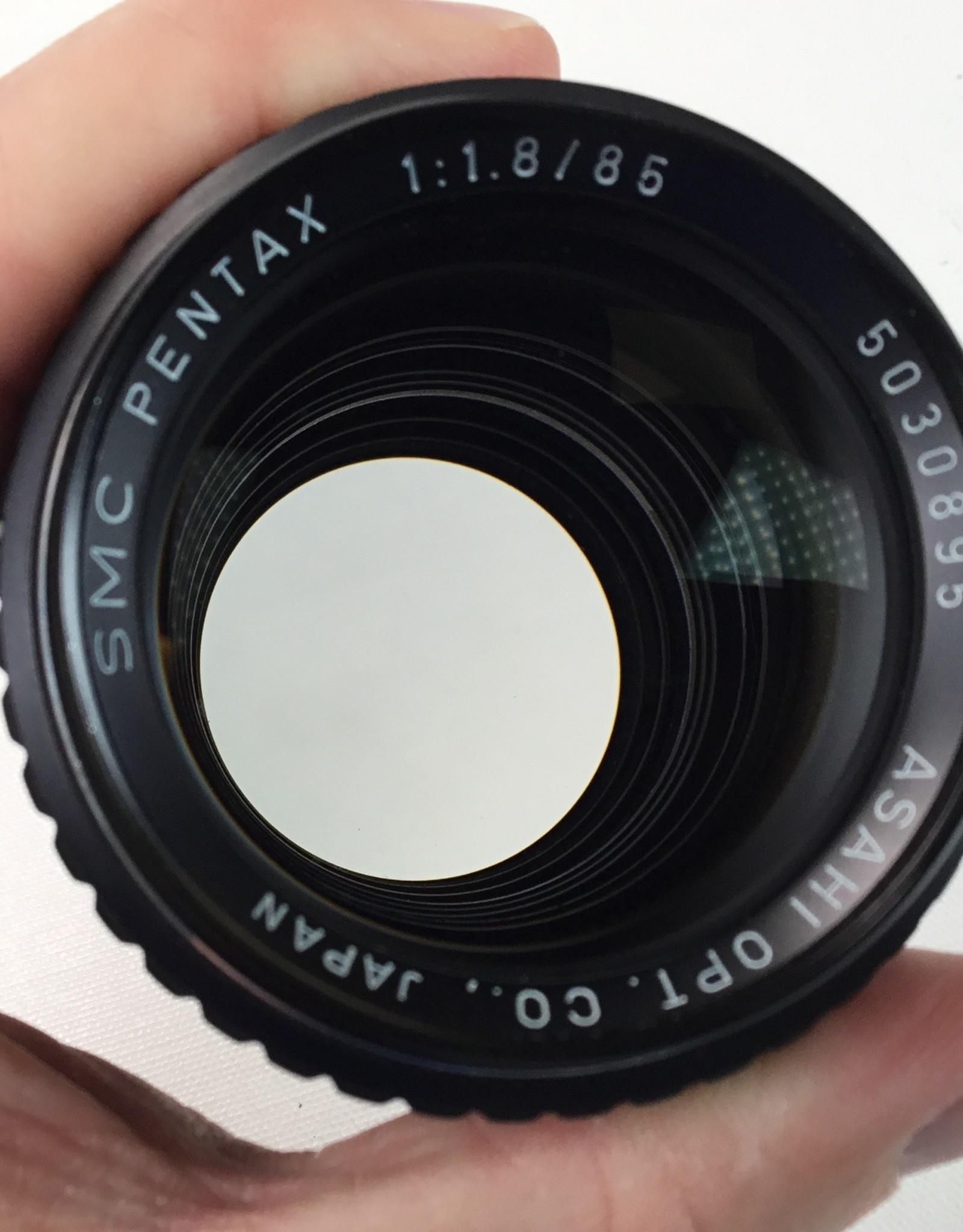 Pentax Pentax SMC 85mm f1.8 Lens Used EX-