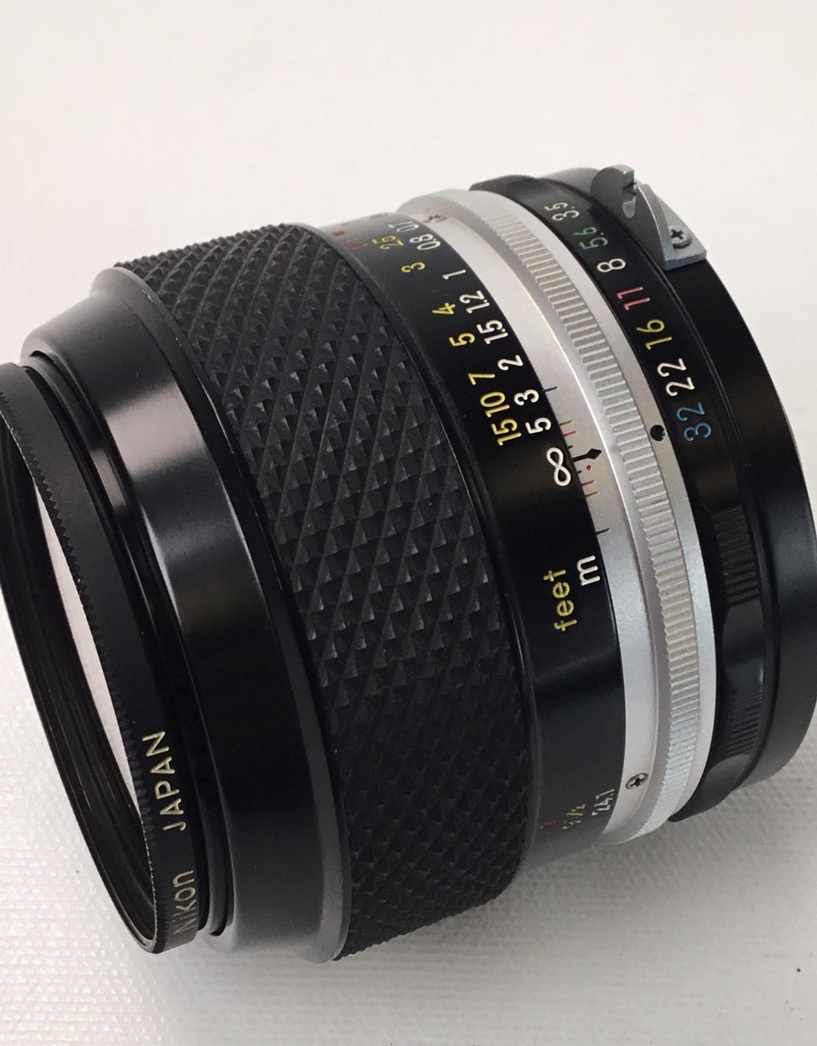 NIKON Nikon Micro Nikkor PC Auto 55mm f3.5 Non AI Lens Used EX