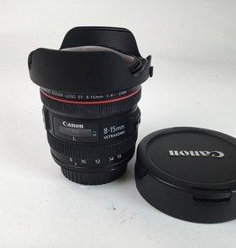 CANON Canon 8-15mm f4 L Fisheye Lens Used EX+
