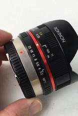 ROKINON Rokinon 7.5mm Fisheye Lens Micro Four Thirds Used EX+