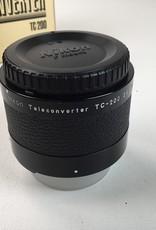 NIKON Nikon TC-200 2X Teleconverter in Box Used EX+