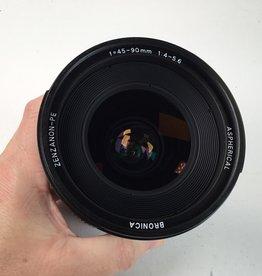 Bronica Bronica ETR 45-90mm PE f4-5.6 Zoom Lens Used EX