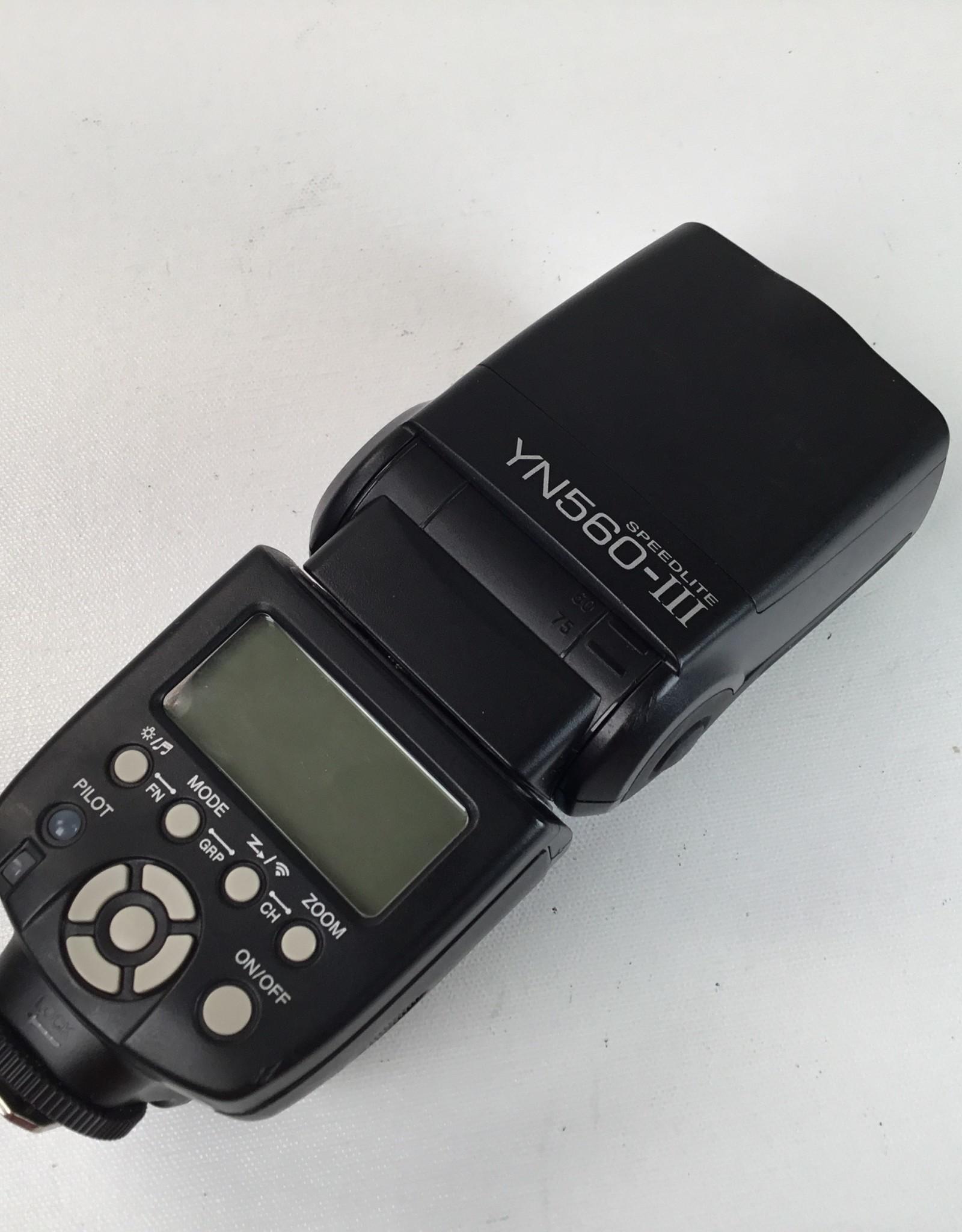 Yongnuo YN-560 III Flash Used EX