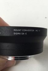 SIGMA Sigma MC-11 SA-E Sony No Caps Lens Used EX+