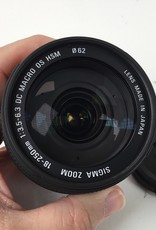SIGMA Sigma 18-250mm f3.5-6.3 DC Macro OS HSM Lens for Sigma SA Used EX+