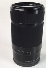 SONY Sony E 55-210mm f4.5-6.3 OSS Lens No Hood Used EX