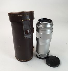 Leica Steinheil 135mm 4.5 Culminar LTM Lens w/ Case AS IS Used