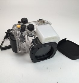 Meikon Underwater Housing for Canon G15 Camera Used EX+