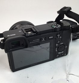 SONY Sony a6000 with 16-50mm PZ Used EX+