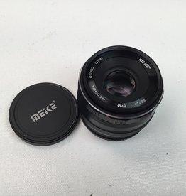 Meike 35mm f1.7 Lens for Fuji Mount Used EX