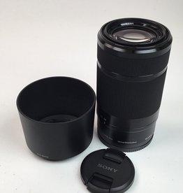 SONY Sony E 55-210mm f4.5-6.3 OSS Lens Used EX+