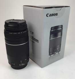 CANON Canon EF 75-300mm f4-5.6 III Lens in Box Used EX+