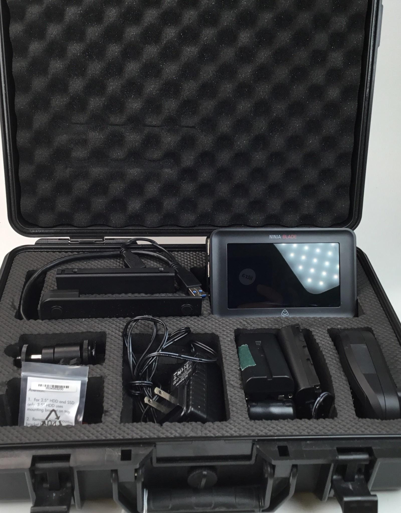 Atomos Ninja Blade Kit in Hard Case Used EX