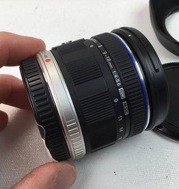 OLYMPUS Olympus 9-18mm f4-5.6 ED MSC Lens Used EX+
