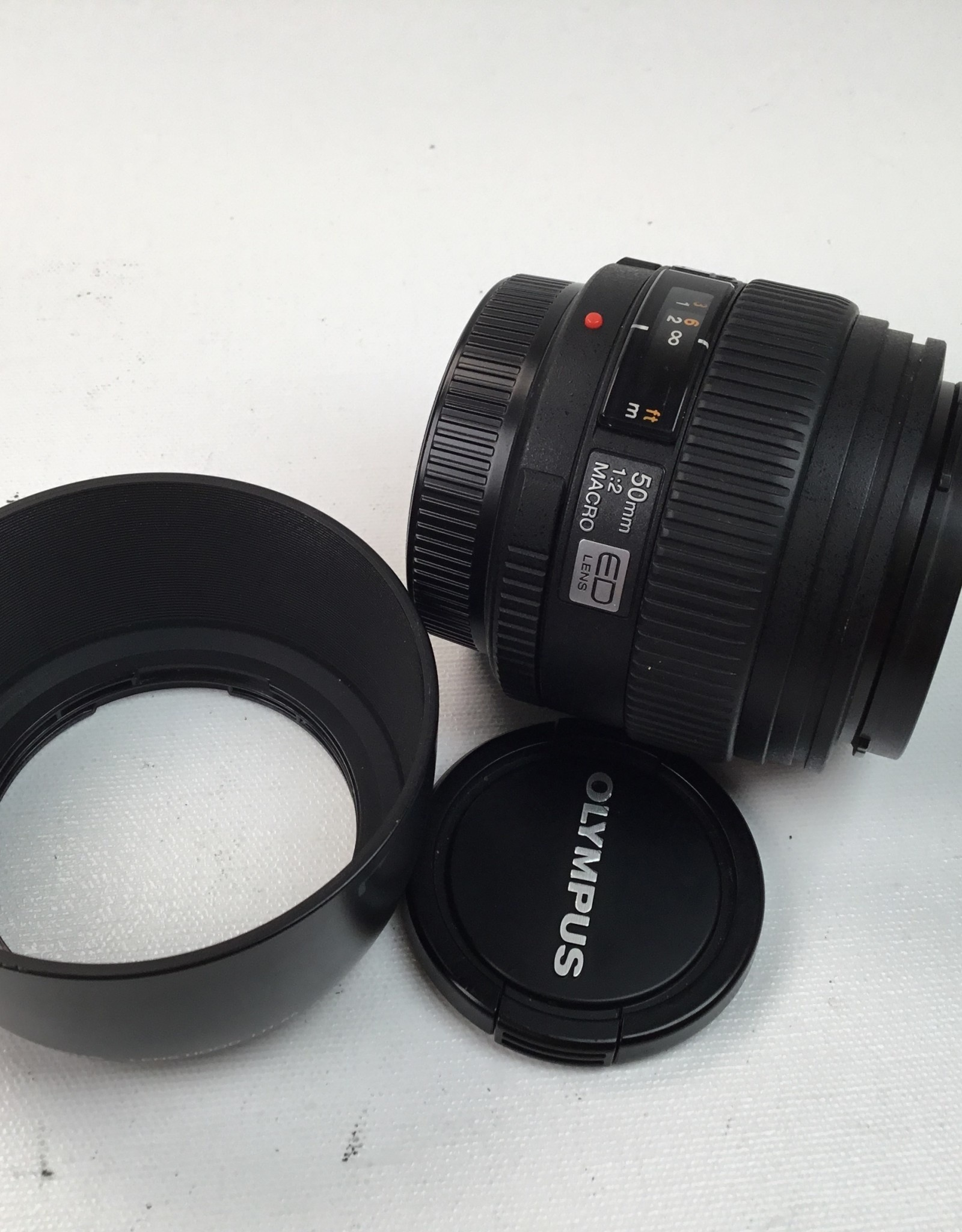 OLYMPUS Olympus Digital Zuiko 50mm f2 Lens Used EX+