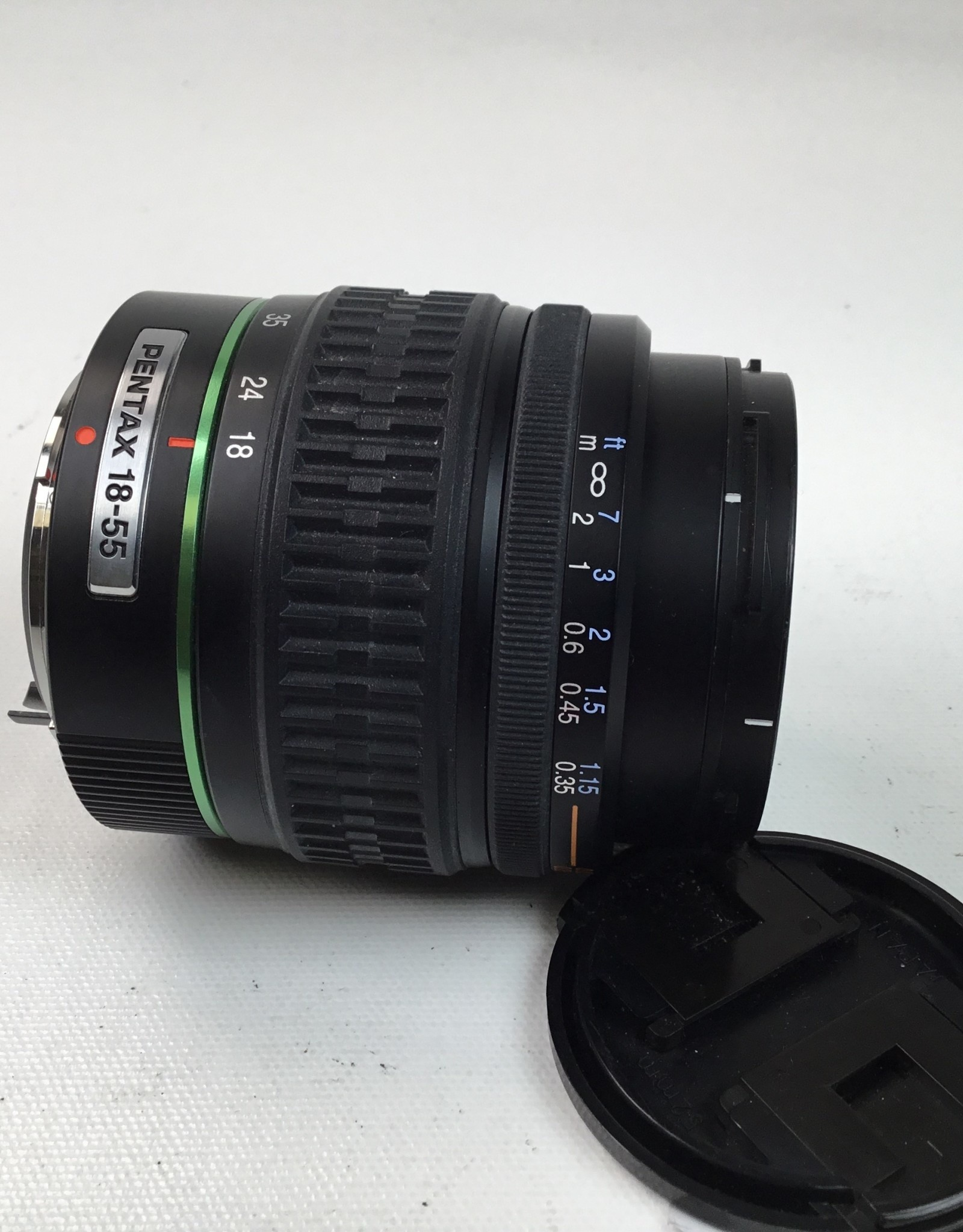 Pentax Pentax SMC DA 18-55mm f3.5-5.6 AL Lens Used EX