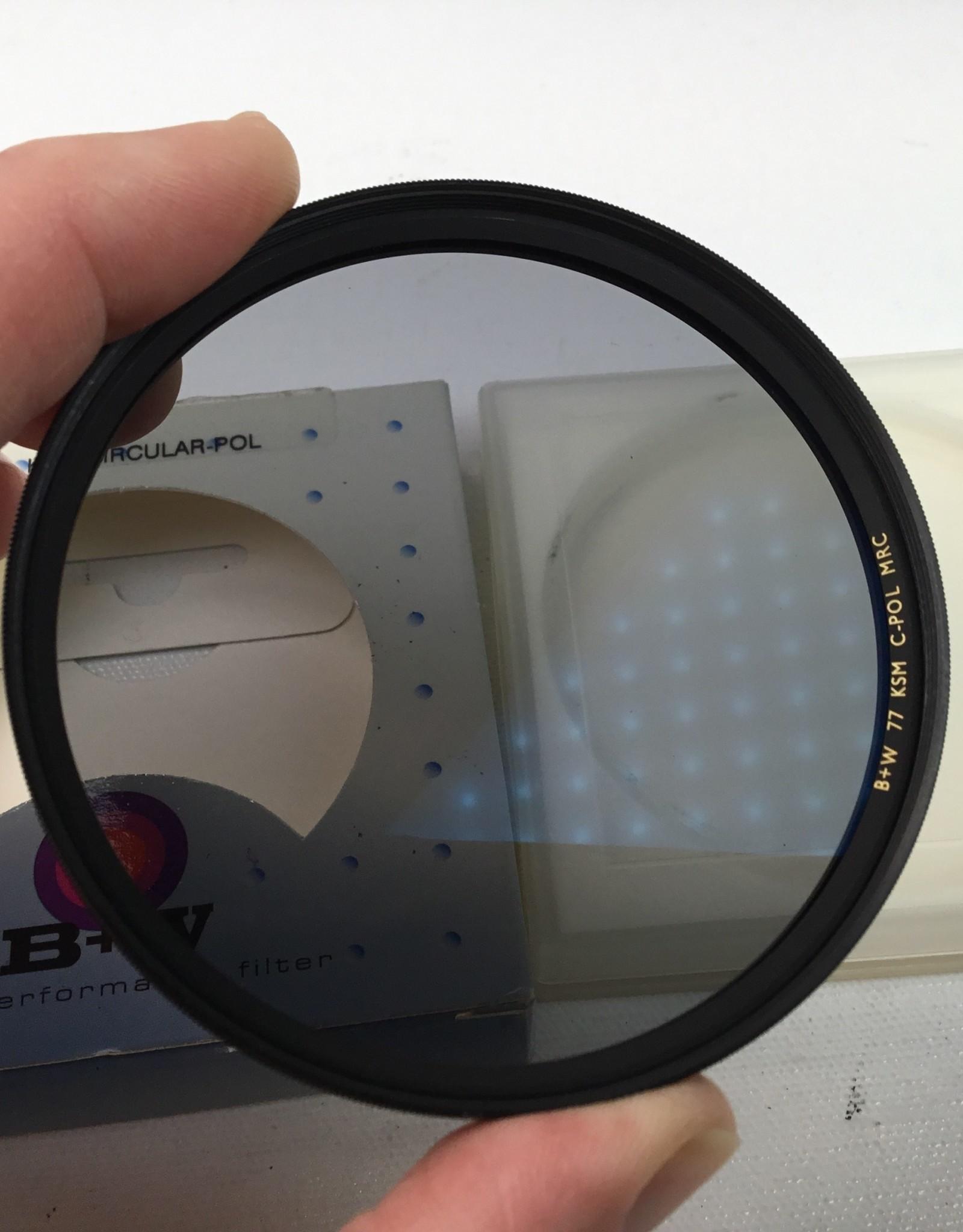 B+W 77mm KSM Circular Polarizer Used EX+