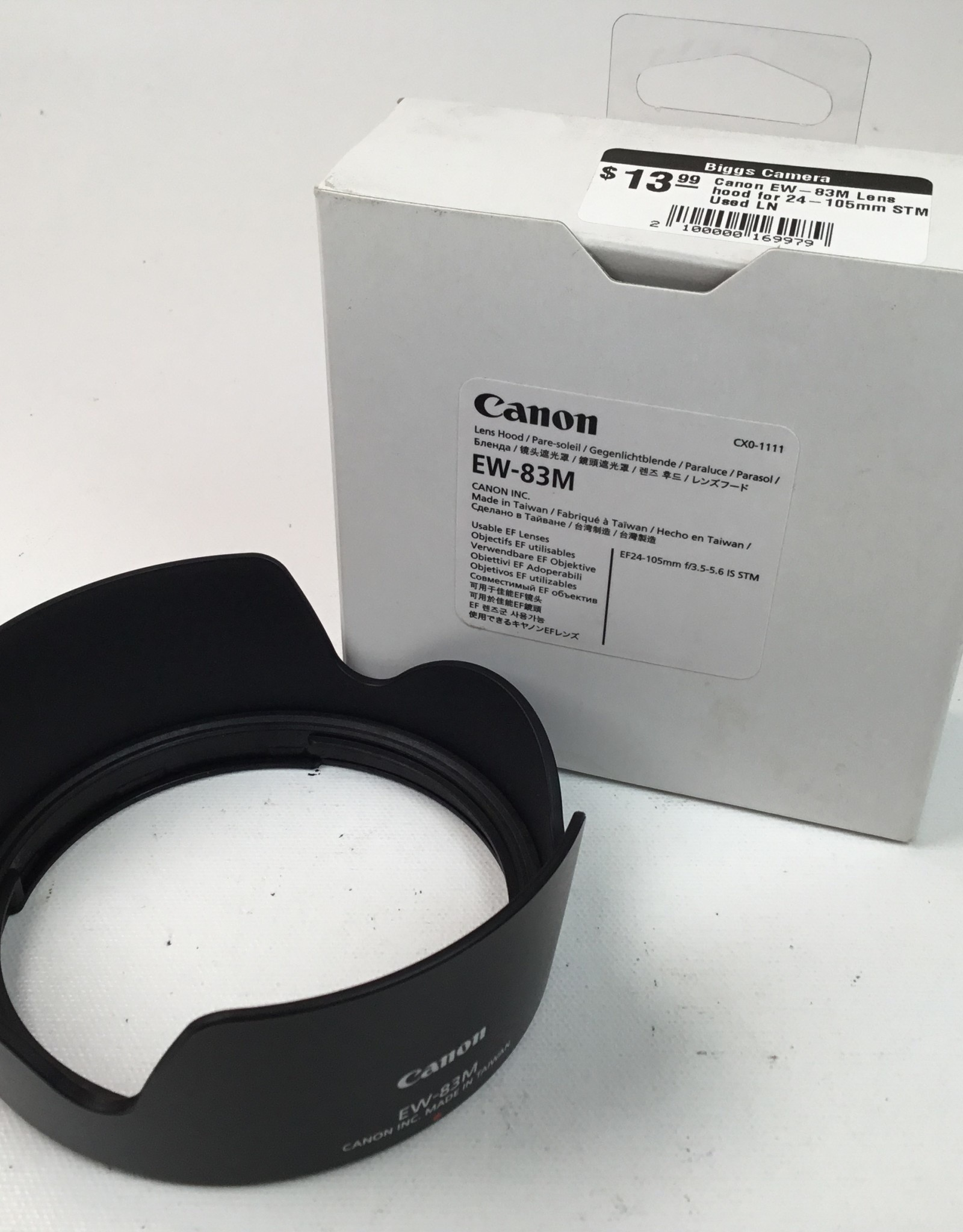 CANON Canon EW-83M Lens hood for 24-105mm STM Used LN