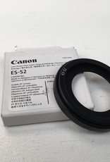 CANON Canon ES-52 Lens Hood in Box for 40mm STM Used LN