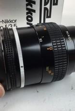 NIKON Nikon Micro Nikkor 55mm f3.5 AI Lens in Box Used EX+