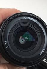 NIKON Nikon AF Nikkor 28mm f2.8 Lens Used EX