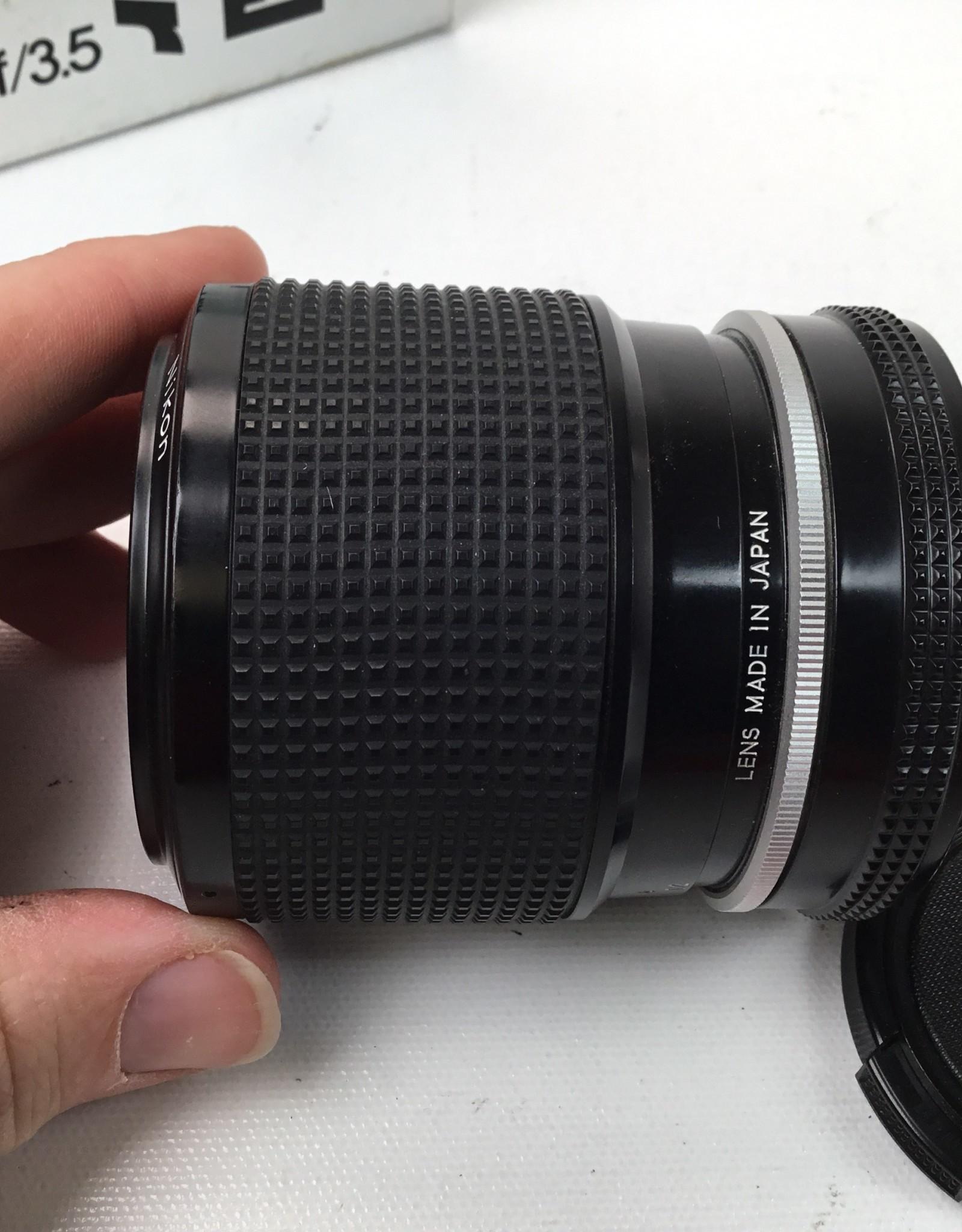 NIKON Nikon Zoom Nikkor 43-86mm f3.5 AI Lens in Box Used EX+