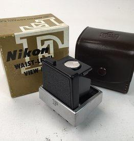 NIKON Nikon F Camera Waist Level Finder in Box Used EX+