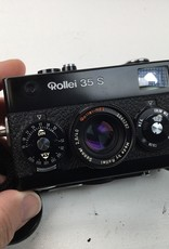 Rollei Rollei 35S Black 40mm Sonnar Singapore in Box Used EX+