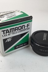 TAMRON Tamron F 1.4X AF Teleconverter for Canon EOS 1 in Box Used EX+