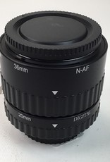 20mm and 36mm Extension Tubes for Nikon Used EX+