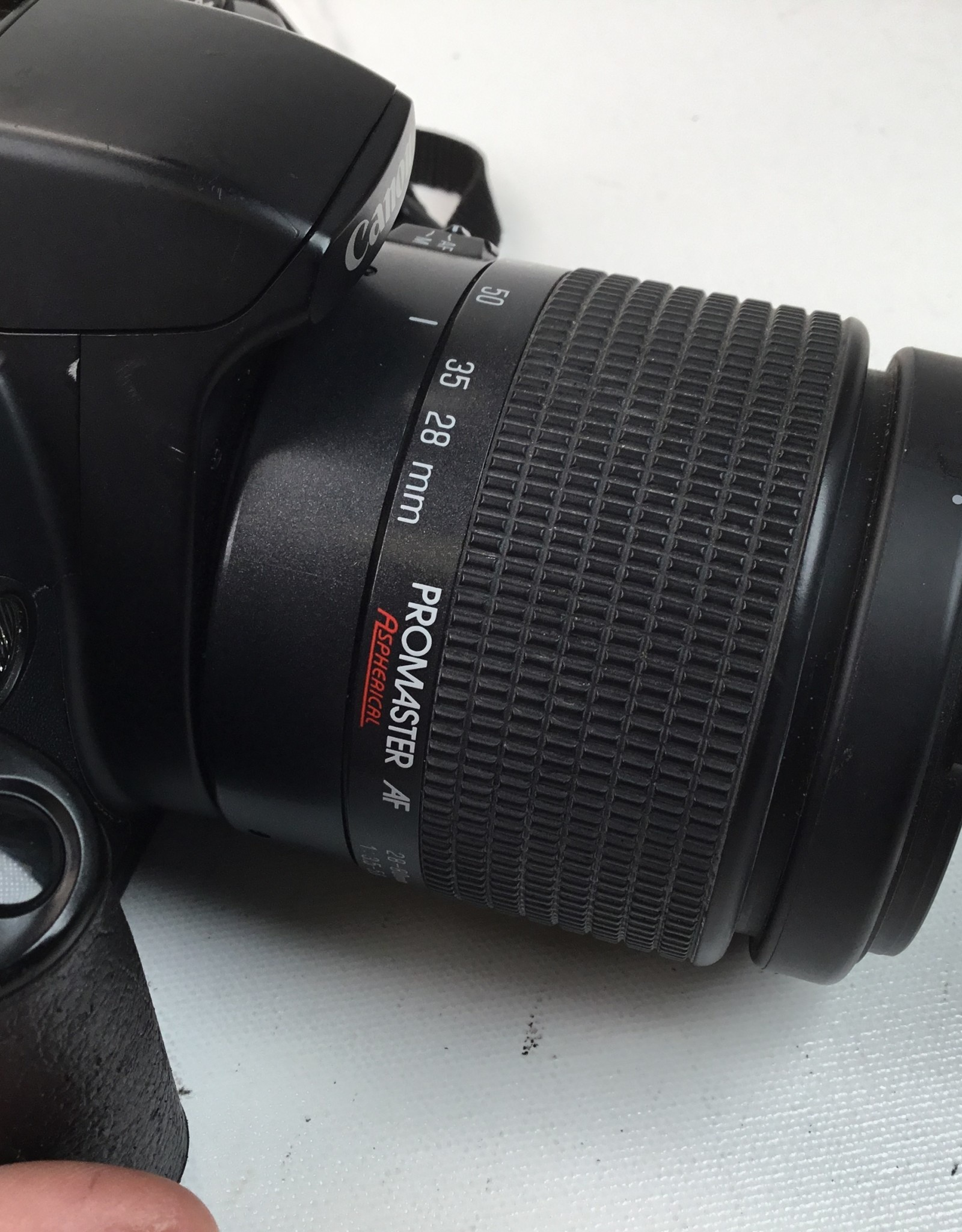 CANON Canon EOS Rebel G Camera with Promaster 28-80mm Used BGN
