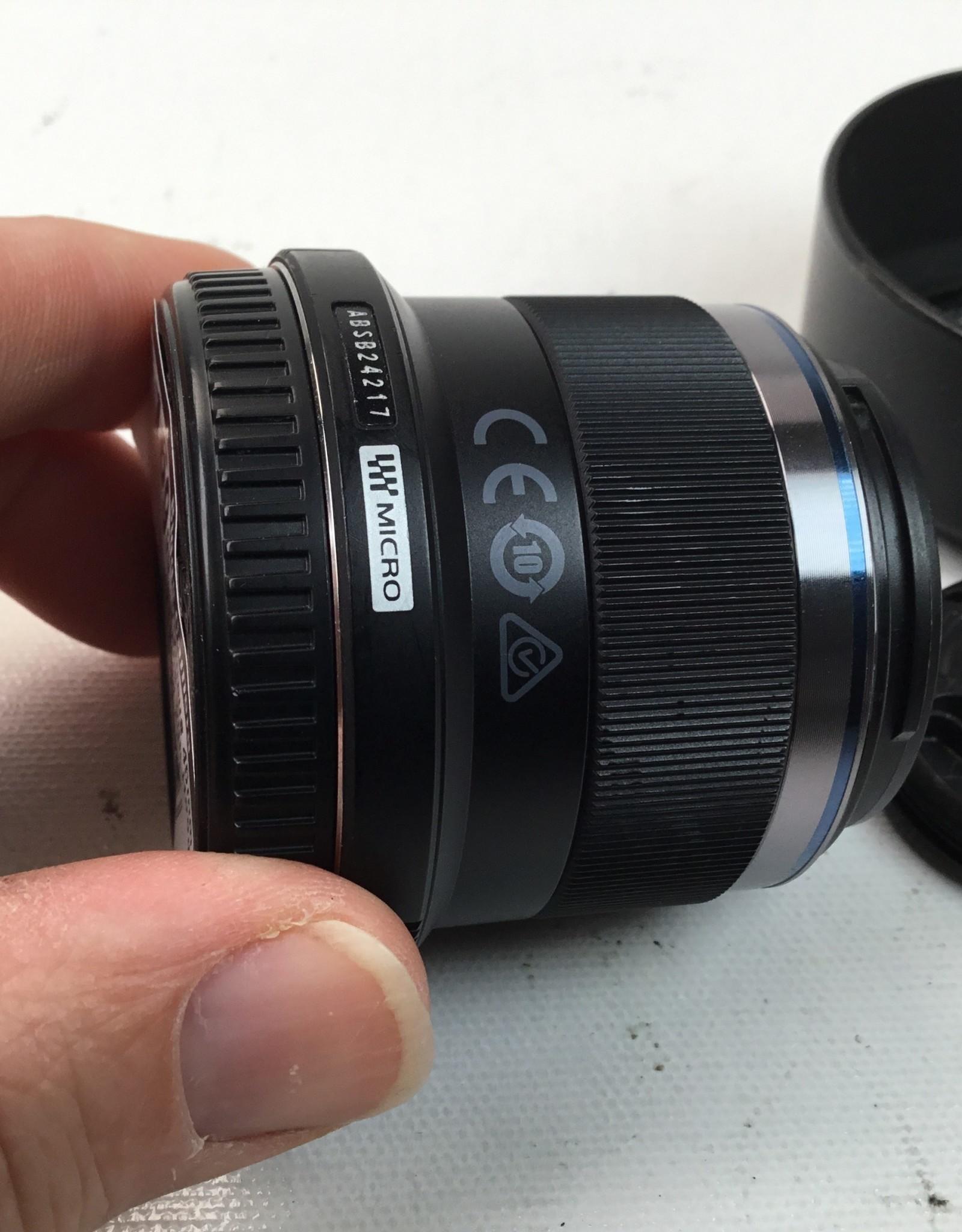 OLYMPUS Olympus 45mm f1.8 Lens with Hood MFT Used EX+