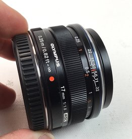OLYMPUS Olympus 17mm f1.8 Lens MFT Used EX