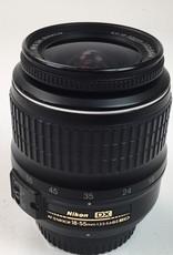 NIKON Nikon AF-S DX Nikkor 18-55mm f3.5-5.6G II Lens used EX