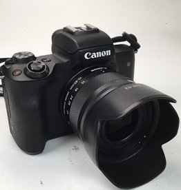 CANON Canon EOS M50 Camera with 15-45mm Used EX