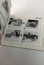 NIKON Nikon Nikomat FTN Camera Instruction Manual Used EX