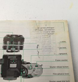 NIKON Nikon F2S Camera Instruction Manual Used EX-