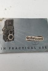 Yashica Rolleicord V Camera Manual Used BGN