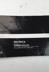 Bronica Bronica ETRSi Original Manual Used EX-