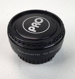 Promaster 1.7X Teleconverter for Minolta Maxxum/Sony A Used EX+