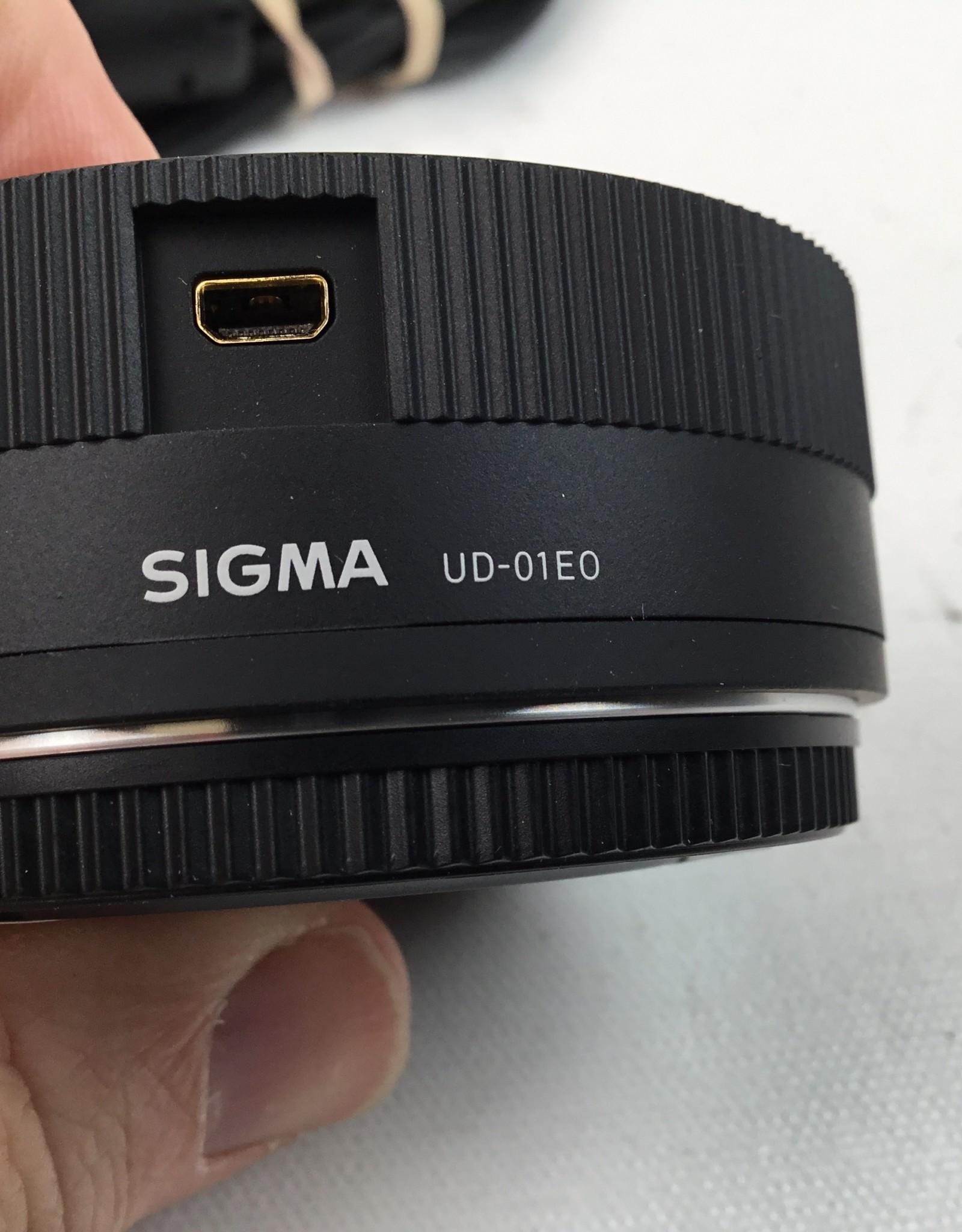 SIGMA Sigma UD-01E0 Lens Dock for Canon Used EX+