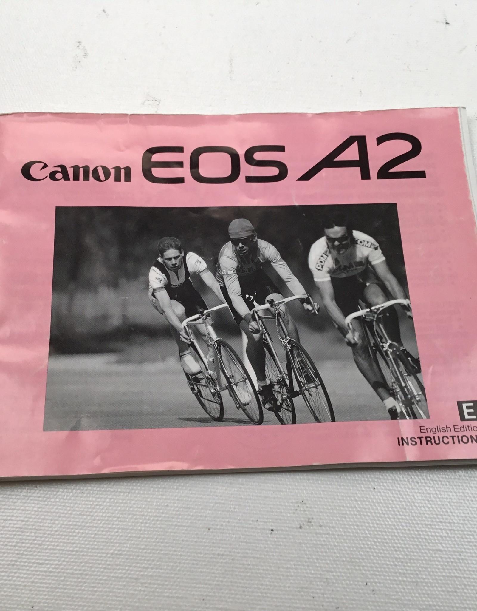 CANON Canon A2 Camera Manual Used EX
