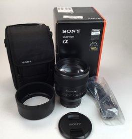 SONY Sony FE 85mm f1.4 GM Lens in Box Used LN