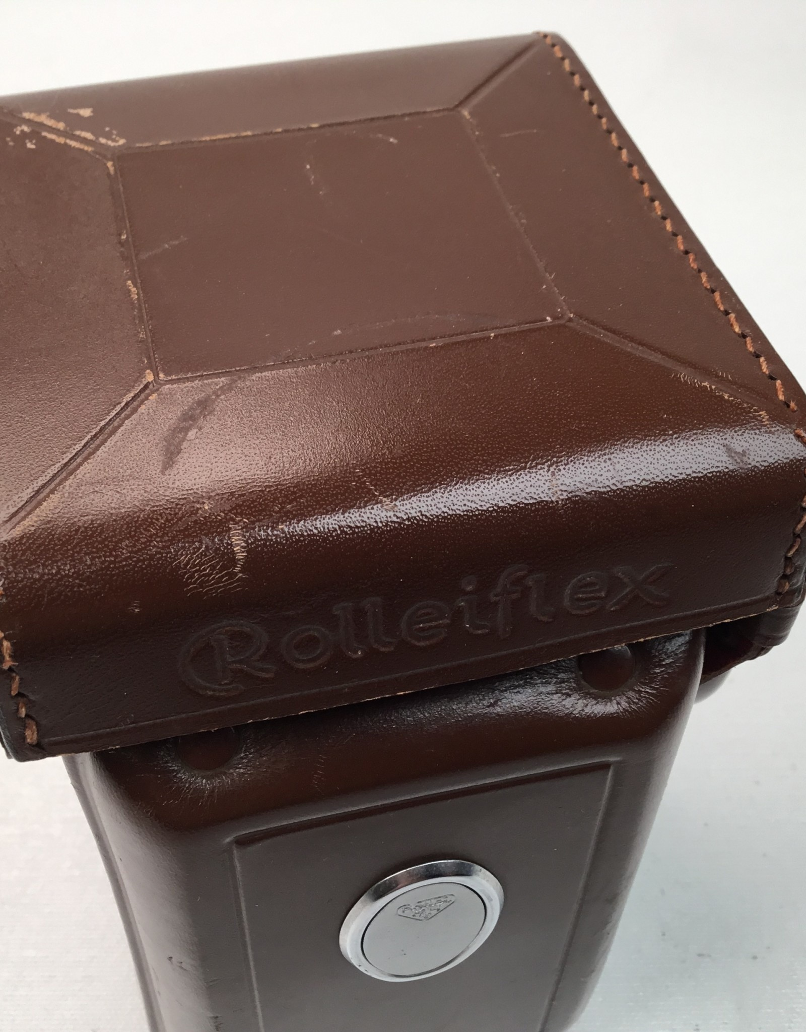 Rolleiflex Leather Case for 3.5F Camera Used EX