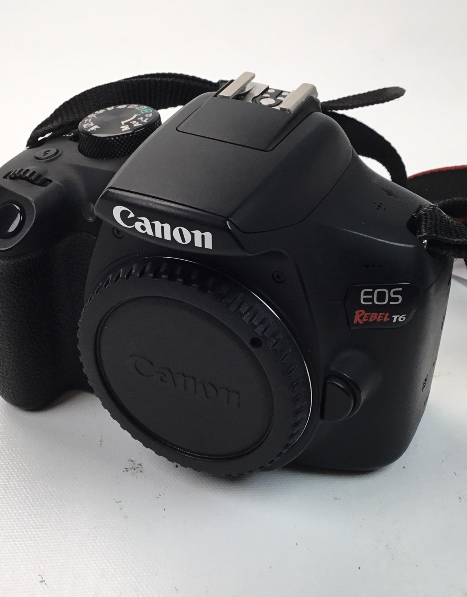 CANON Canon Rebel T6 Camera Body Used EX