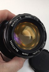 NIKON Nikon Nikkor-S 55mm f1.2 Non AI Lens Used EX