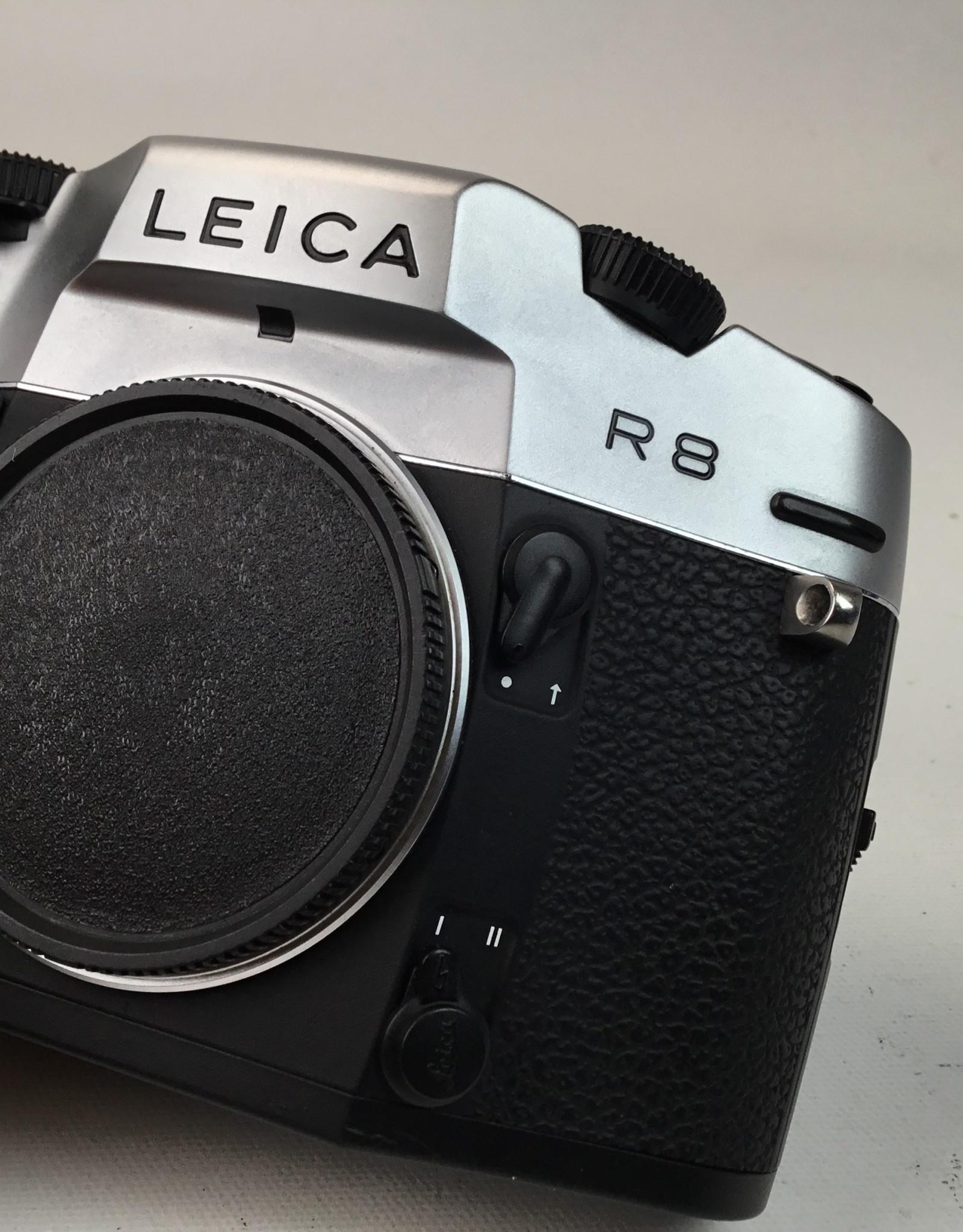 Leica Leica R8 Camera Body Silver Chromium Finish in Box Used EX+