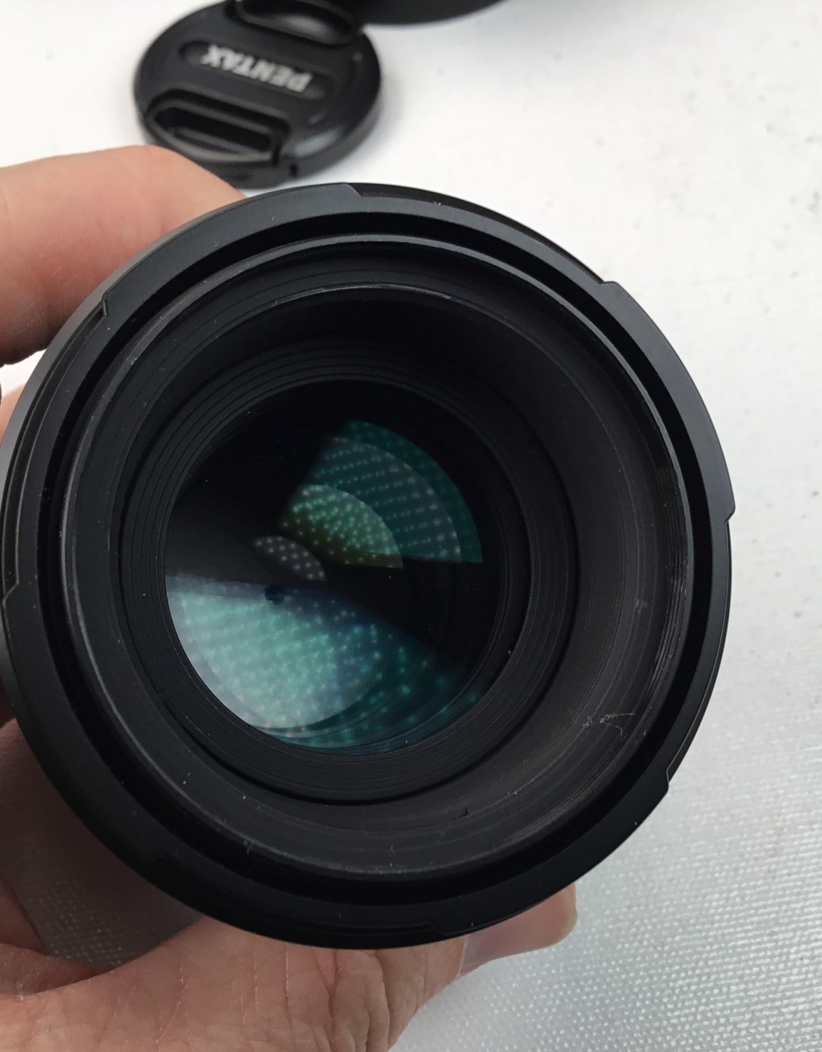 Pentax Pentax-D FA SMC Macro 100mm f2.8 WR Lens in Box Used EX